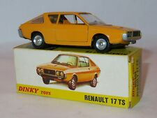 SPANISH DINKY TOYS 11451 RENAULT 17 TS. NEAR MINT MODEL IN GOOD CLEAN BOX.