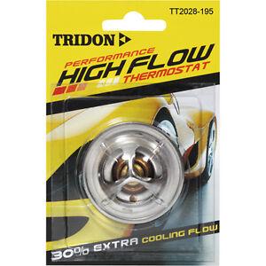 TRIDON HIGH FLOW THERMOSTAT FOR MITSUBISHI PAJERO NC 12/85-09/86 4G54 2.6L