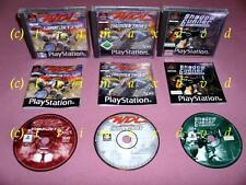 Ps1 _ 2x WDL World Destruction League warjetz & Thunder tanques & Shadow Gunner