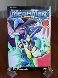 Mega Man NT Warrior Vol 5 Manga by Ryo Takamisaki
