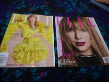 TAYLOR SWIFT - ELLE MAGAZINE - APRIL 2019 - BOTH U.S. & UK VERSIONS!