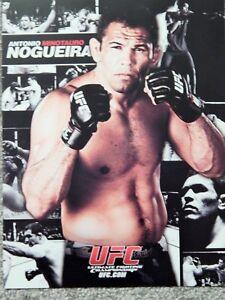 UFC ANTONIO MINOTAURO NOGUEIRA DELUXE 8 1/2 X11 OFFICIAL PHOTO COLLECTIBLE