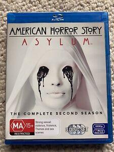 American Horror Story : Season 2 (Blu-ray, 2013, 3-Disc Set)