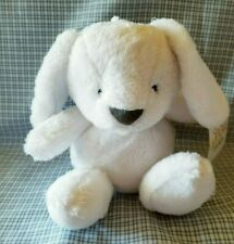 Carters Baby Puppy Plush White Puppy Dog Just One You Lovey # 63204
