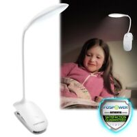 USB Clip-on Table Desk Bed Piano Reading Light Desk Lamp Dimmable LED Flexible