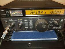 Icom IC 821H doble banda Multimodo transmisor-receptor de VHF/UHF