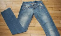 REPLAY Jeans pour Femme W 26 - L 34 Taille Fr 36 (Réf #A257)
