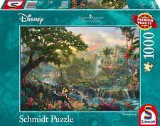 Jigsaw Puzzle 1000 Pcs Thomas Kinkade Disney Jungle Book Schmidt Spiele 59473