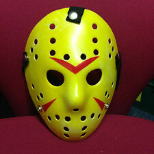 Friday The 13th Jason Vorhees Máscara de Hockey. envejecido, Halloween! nuevo