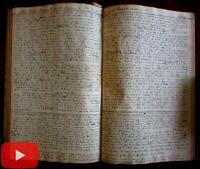 1878-1880 Christianity Religious Scholarly unique manuscript notebook