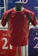 Jersey maillot camiseta trikot camisa shirt vintage  portugal ronaldo L 2002 02