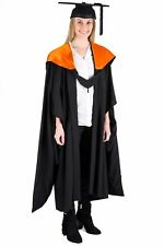 University Academic Hood Graduation Masters Fully Lined with Orange
