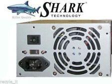 NEW SHARK TECHNOLOGY 500W 2X MOLEX/SATA 20+4 Replacement Power Supply PSU
