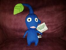 VERY RARE 2002 TAM BLUE PIKMIN 1 Plush Toy Doll Nintendo OFFICIAL Pouch Bag