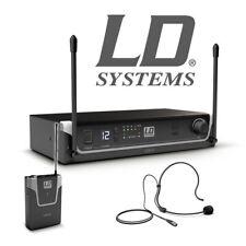 LD Systems U308 Bph Inalámbrico Escenario Yoga Auricular Micrófono Sistema Con