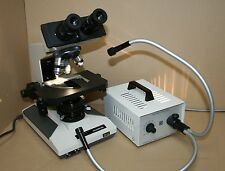 Olympus BH-2 Stereomikroskop Auflicht- Durchlichtmikroskop mit Kaltlichtquelle