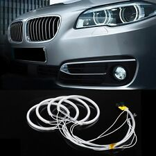 4x CCFL Angle Angel Eye Head Light White Rings Kit Headlight for BMW E36 E39 E46