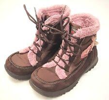 Ricosta - Gr. 25 - Leder Stiefel Boots Winterschuhe Blinkies Braun-Rosa
