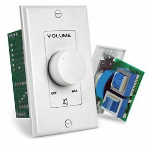 Wall Mount Volume Control Knob - Flush In-Wall Plate Rotary Style Adjustment 20