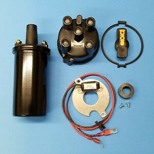 Wisconsin VH4D W4-1770 VG4D V465D Electronic Distributor Repair Kit  with Coil