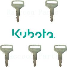 5 Kubota Ignition Keys M Series Tractor Rtv1100 Amp L Series Cab Door 36919 75190