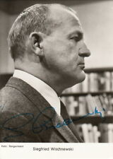 Siegfried Wischnewski   original signierte Graphima AK der 60er