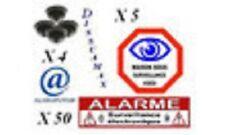 Pack DISSUAMAX PRO ( Caméra factice + Sticker Alarme )!