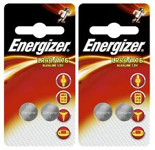 4x Energizer Original Special LR44  1.5v Alkaline Button Cell Batteries A76 AG13