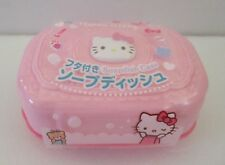 JAPANESE SANRIO HELLO KITTY Soapdish Case  PINK KAWAII From JAPAN
