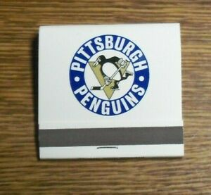 Pittsburgh Penguins, 1970-71 Home Schedule / Matchbook, FULL & Not Used