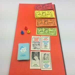 1979 Mad Magazine Board Game Replacement Parts - Select Your Own Piece(s)