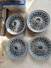 Triumph Spitfire 13 inch wire wheels