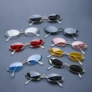 Sunglasses Fashion Vintage Shades Elegant Retro Small Ovals Men Women Eyeglasses