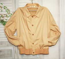 Beiger Bogner Windbreaker Harrington Blouson Flieger Jacke Camel L XL 54 56