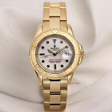 Rolex Lady Yacht-Master 69628 18K Yellow Gold