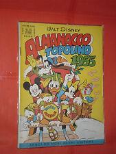 ALBO D'ORO speciale ALMANACCO TOPOLINO 1955-n° 51 -DEL 1954-completo dei giochi