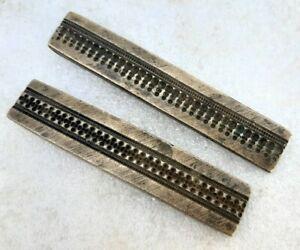 Antique Old Rare Unique Fine Bracelet Jewelry Making Design Bronze Die Mold Seal