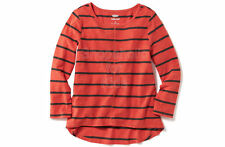 SFK Old Navy Girls Slub-Knit Scoop-Neck Tee