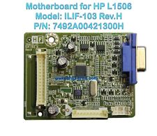 Mainboard ILIF-103 Rev.H For Monitor LCD HP L1506 492A00421300H 790641300000H