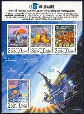 FSAT/TAAF 2000 Penguins/Space/Walruses/Lobster/Animation/Maps 4v sht (n29573)