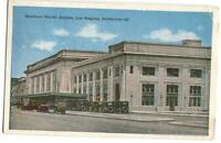 Postcard Railroad Southern Pacific Station Los Angeles CA