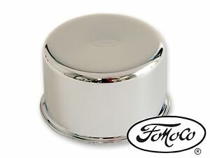 FORD MUSTANG FALCON BRONCO CHROME OIL FILLER CAP FOMOCO