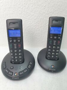 BT Graphite 2500 Twin Digital Cordless Telephone Answering Machine