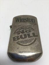 Vtg Winston Cigarettes Tobacco Lighter No Bull Rare