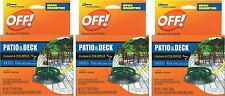 OFF! Mosquito Coils efills Country Fresh Scent 3 PACK / 6 ea, TOTAL 18 Refills