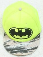 Batman DC Comics Yellow Baseball Style One Size Adjustable Snapback Mans Hat Cap