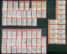 Einschreiben -Belege: 127 verschiedene R-Zettel Postleitzahl 4 / 4000 Düsseldorf
