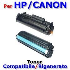 Toner Q2612A, FX-10, 0263B002 Compatibile/Rigenerato HP LaserJet 1010/1018/1020/