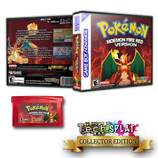 Moemon Fire Red GBA Anime fan 1pc game lot Collector Gameboy Advance pokemon