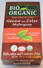 Indus Valley 103ml Henna Hair Color - Mahogany